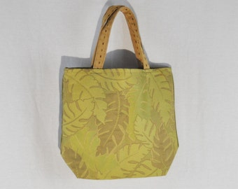 Green Tapestry Tote Bag
