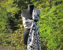 Baby Sling / Baby Ring Sling / Baby Wrap Carrier / FAST SHIPPING - 100% Super Cotton - Gray Black White