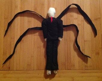 Slenderman Creepypasta Halloween Teddy Rag Doll Toy Decoration Horror Monster