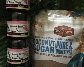 Coconut Sugar & Brown Sugar Scrub