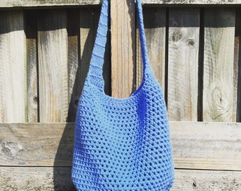 READY TO SHIP | Crochet Tote Bag