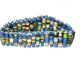Native Bracelet, Friendship Bracelet, Unisex Bangle, Gift for Her, Beaded Bracelet, Gift Bracelet, Wish Bracelet, Tribal Bracelet