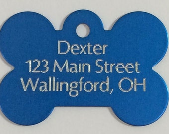 Dog Tags - Personalized Dog Tag - Custom Made Dog Name Tags - Pet ID Tags