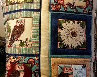 Owl Quillows