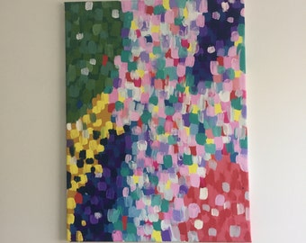 Multi coloured painting