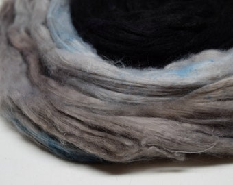 Handpainted roving | ORDER | 100g | faux cashmere