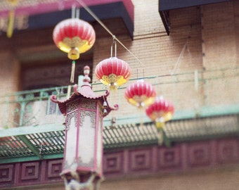 Chinatown Picture, Chinatown Lanterns, San Francisco Photography, Chinatown Photo, Chinese Lanterns, California Decor, Fine Art Photography