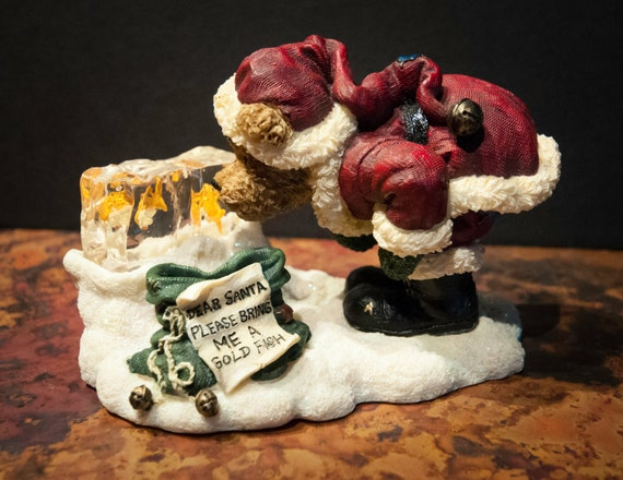"""Boyds Bears Signed and Numbered """"Chip Off the Old Block"""" Collectible"""