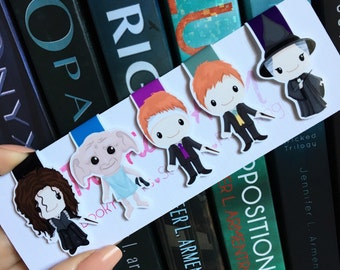 REDUCED TO CLEAR Wizard Mini Magnetic Bookmarks Set Three