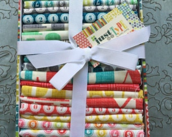 Just My Type Fat Quarter Bundle Box by Patty Young for Michael Miller Fabrics