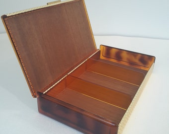 vintage french golden box