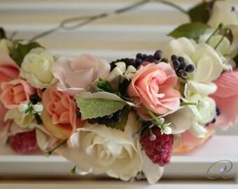 Wedding on pink