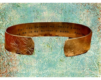 """Psalm 139:13 For You formed my inward parts; You wove me in my ... 