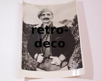 "vintage original photo - greek cypriot Georgios Grivas ""Digenis"" - EOKA"