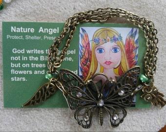 Natue Angel butterfly bracelet