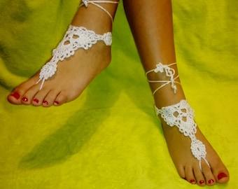 Barefoot Sandals Crochet Ref: S05