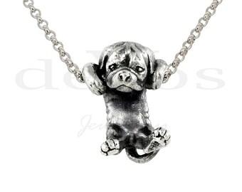 Bulldog Puppy Pendant