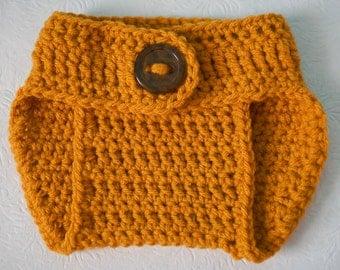 Newborn Crochet Diaper Cover - Girl Diaper Cover - Boy Diaper Cover - Crochet Nappy Cover - Crochet Baby Shower Gift - Ready to Ship