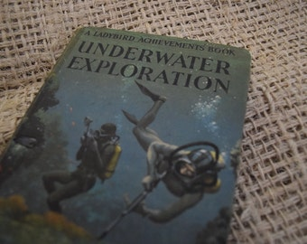 Underwater Exploration. A Vintage Ladybird Book. Series 601. 1968