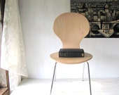 Reserved For Etsy! Mid Century Bent Plywood Arne Jacobsen Childs Chair - Ant Chair - Fritz Hansen - Stacking Chair