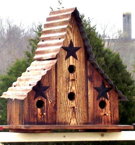 Barn Style Bird Houses House Design Plans