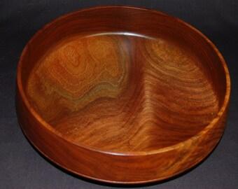 Figured black walnut bowl