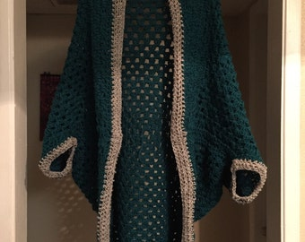 Crochet cocoon shrug..shawl..jacket..