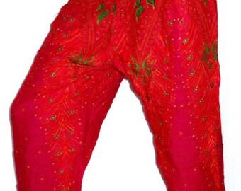 Harem woman pants ethnic Aladdin Harem Pant Aladdin Hippie pink
