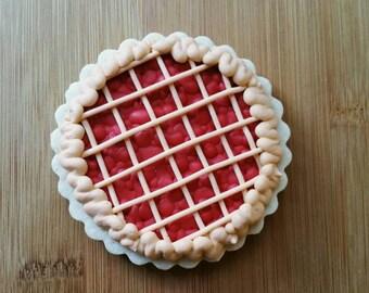 Cherry Lattice Pie Sugar Cookies