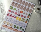 Grocery Shopping and Meal Planning Stickers