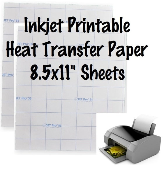 Accomplished image throughout inkjet printable htv
