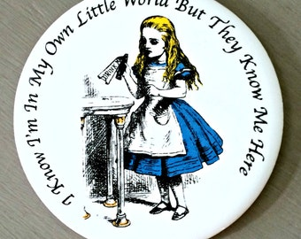 Alice In Wonderland Ceramic Coaster