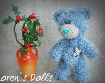 Mini Teddy Bear Crochet Toy MADE TO ORDER