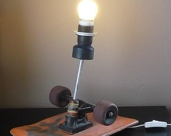 Skateboard Lamp skateboard lamp | etsy