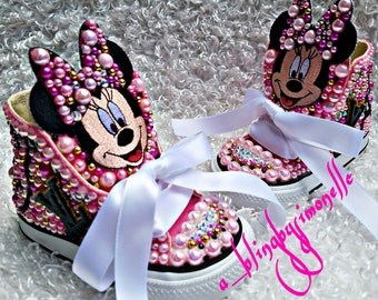 Custom Minnie Mouse sneakers