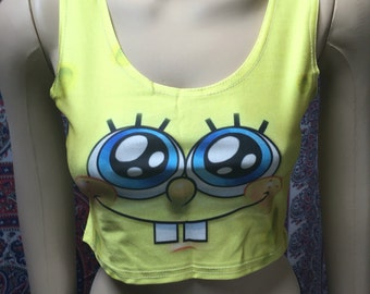 Spongebob Squarepants Crop Top