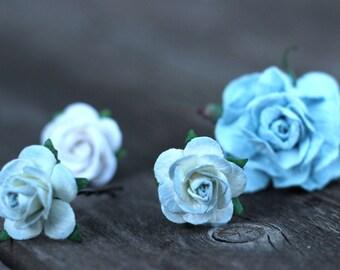 Flower Head Crown, Blue Flower Crown, Flower Halo Blue, Aqua Bridal Flower Crown, Floral Blue Crown, Bridal Hair Wreath, Flower Halo, Womens