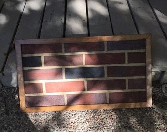 Framed Brick Sample Art Work Sales Sample