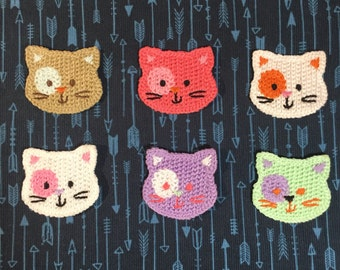 Sew on Kitty Patch