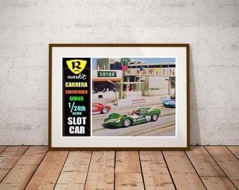 Russkit Carerra Slot Car Poster!