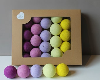 Cotton Balls Krokusove 20 items