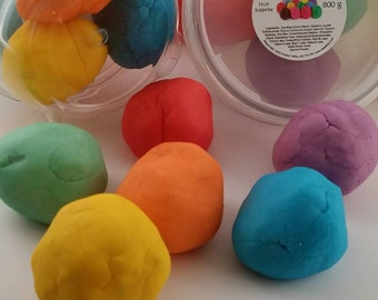 Bubbling play putty