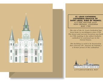 St. Louis Cathedral (New Orleans, Louisiana) Greeting Card