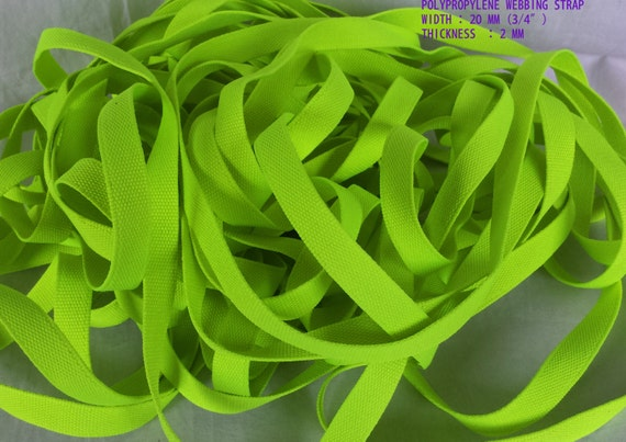 20 Mm Wide 3 4 Quot Strong 2 Mm Thick Polypropylene Webbing