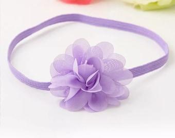 Simple Flower headband 5 colors available toddler headband baby headband