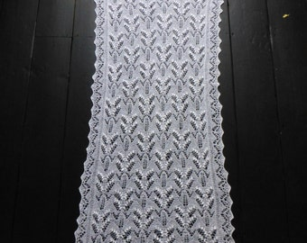 Traditional Estonian Knitted Lace Shawl