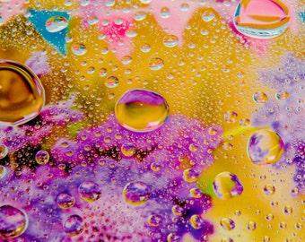 Fine Art Macro Waterdroplet Images