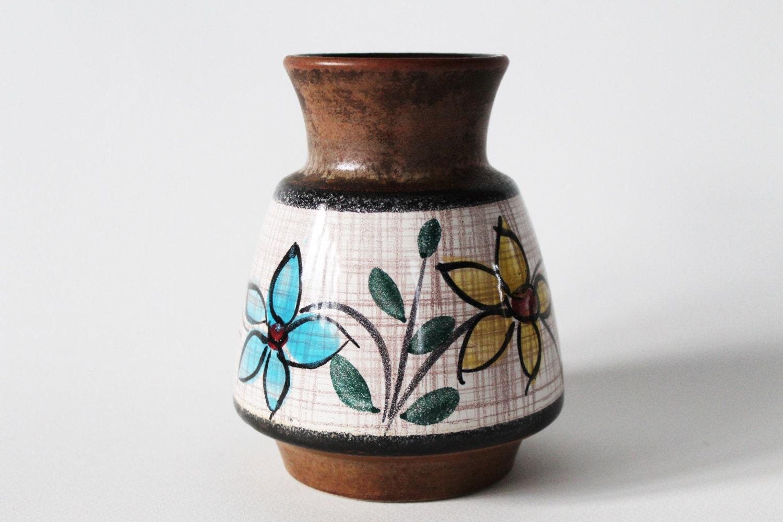 Vintage Vase. West German Pottery. WGP. Antique by ...