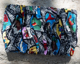 La Loteria, Bandeau Crop Top, Toddler Tube Top, Baby Girl, Crop Top, Tube Top, Baby Top, Baby Shirt, Baby Boutique Clothes,Psychobilly  Baby