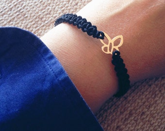 BUTTERFLY bracelet, bracelet butterfly, Bracelet Silver